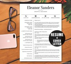 Instant Download Resume Design Template By Businessbranding