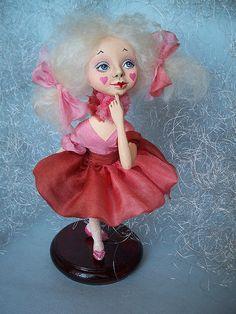 OOAK Art doll  Fanteska by AKVARELA on Etsy