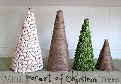 Ideas DIY: crea tu propio árbol de Navidad