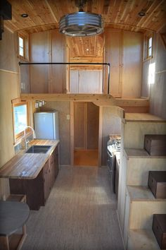 The Moon Dragon is a unique tiny house built by Zyl Vardos, a small living specialist out of Olympia, Washington. This home may have one of the most interesting exteriors that we've even seen! Off Grid Tiny House, Small Tiny House, Modern Tiny House, Tiny House Cabin, Tiny House Living, Tiny House Plans, Tiny House On Wheels, Tiny House Design, Tiny House Closet