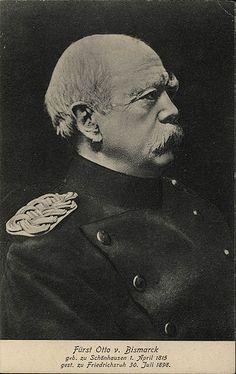 Fürst Otto von Bismarck, geb. zu Schönhausen, gest. zu Friedrichsruh | Flickr - Photo Sharing!