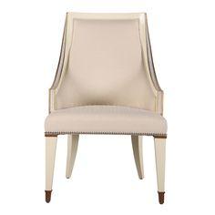 餐椅 榉木实木框架 金箔饰面 W610*D660*H1050 mm