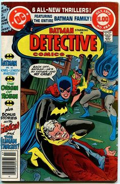 Detective Comics #484 July 1979 - The Origin of Robin | #comics #comicbooks…