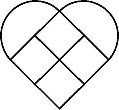Simple Stained Glass Cross Patterns   With Heart and Hands: Huge List of Free Quilt Block Patterns:Updated