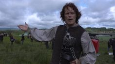 Exclusive! Sam Heughan's got a message for Outlander fans