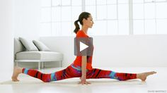 Splits are probably not ever going to happen for me in this life, but I'd like to loosen up those super tight muscles that would be necessary. jkp. Tara Stiles demonstrates how you can prepare your body for the splits.