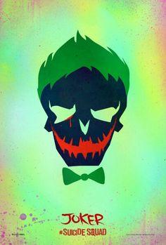 Suicide Squad Poster. Joker.