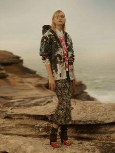 Gemma Ward Charms in Prada Looks for Wonderland Magazine