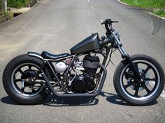 Bobbers: Bobbers And Choppers Motorcycles Inspirations, Project Yamaha XS400 Bobber Picture