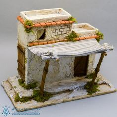 case presepe palestinese - Buscar con Google Christmas Manger, Christmas Nativity Scene, Christmas Villages, Christmas Crafts, Christmas Decorations, Nativity Scenes, Nativity House, Diy Table Top, Modelos 3d