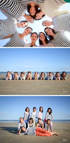 Un EVJF sur la plage de la Baule Marianne Zmokly Photographe - - Un EVJF sur la plage de la Baule Marianne Zmokly Photographe Group Pictures, Bff Pictures, Best Friend Pictures, Shooting Photo Famille, Shooting Photo Amis, Beach Photography, Scenic Photography, Friends Group Photo, Poses Photo