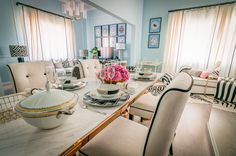 Ana Antunes | Sala de Jantar | Dining Room | Dishes | Bowl | Dining Table | Dinning Chairs | Home | Interior | Design