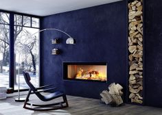 Brunner Fireplace