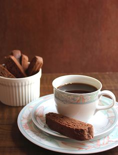 Chocolate Orange Biscotti, The original Italian biscotti recipe kissed by chocolate and this is a low calorie and lighter version. It's delicious, crunchy, and chocolaty.