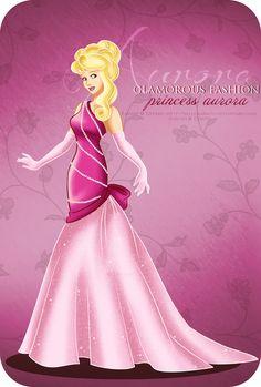 Glamorous Fashion - Aurora by ~selinmarsou