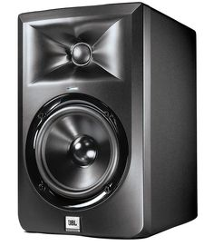 JBL Powered Studio Monitor - Get JBL accuracy in your home studio! With an improved waveguide, the powered studio monitors offer impressive stereo imaging and a broad sweet spot. Desktop Speakers, Home Audio Speakers, Monitor Speakers, Studio Equipment, Dj Equipment, Date, Jbl Subwoofer, Loudspeaker, Microphone For Recording