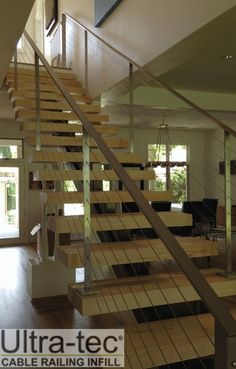 Photo Gallery Of Ultra Tec Stainless Steel Cable Railing Systems Used In  Decks, Stairs And Other Residential Cable Railing Applications