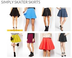 Skater skirts are becoming a staple item in every girls wardrobe. They can be dressed down, dressed up, and dressed however you want. Whether it be Summer, Fall, Winter, or Summer, skater skirts give every outfit a little youth and edge. For a styling session, join me at https://www.keatonrow.com/stylist/mckennajo @Keaton Row