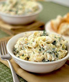 Spinach Artichoke Dip Pasta Recipe