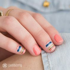 Bayside and crushing on coral, love this combo! Check them out at donnasharp123.jamberry.com