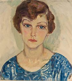 Jan Sluijters, PORTRAIT OF A WOMAN