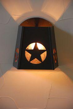 Texas Star Light, Star Light, Sconce, Texas Sconce | Texas Living .