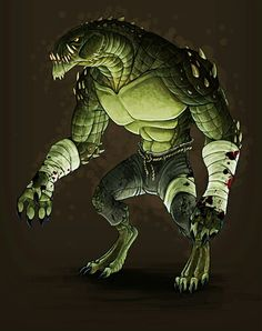 Crocodile Physiology | Killer croc, Comic and Batman