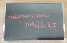Prince New Power Generation The War Cassette 1998 NPG Records OOP Promo #Funk