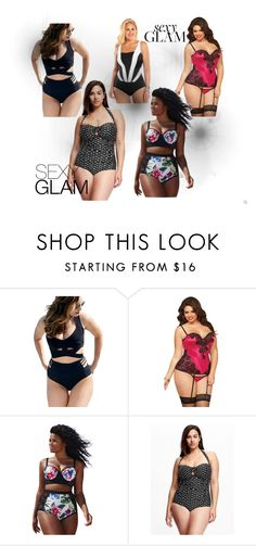 """""""Sexy Plusize"""" by quianeacza on Polyvore featuring moda, Old Navy e plus size clothing"""