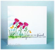Wildflowers Friend by frenziedstamper - Cards and Paper Crafts at Splitcoaststampers