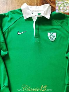79fc00125ed 36 best Classic Ireland Rugby Shirts images in 2019   Canterbury ...