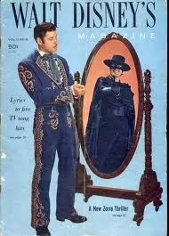 Guy Williams is the only real Zorro, although Antonio Bandaras comes close Walt Disney Co, Disney S, Disney Movies, Great Tv Shows, Old Tv Shows, Tarzan, The Legend Of Zorro, Disney Magazine, Western Comics