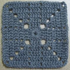 Ravelry: 365 Day -- My Hubby's Sick and I'm Crocheting Square Crochet Squares Afghan, Crochet Square Patterns, Crochet Quilt, Crochet Blocks, Crochet Blanket Patterns, Crochet Motif, Crochet Stitches, Granny Squares, 365days