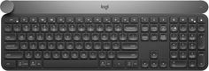 Logitech Craft wireless keyboard delivers a new level of control to power users with a creative input dial, contextual controls, and a clean, thoughtful design.