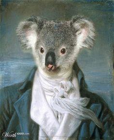 Animal Renaissance 13 - Worth1000 Contests.           Koala