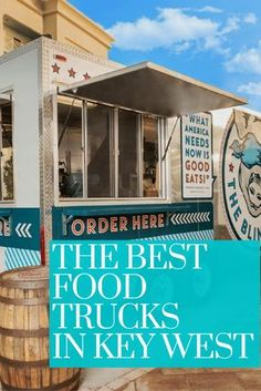 Key West isn't known for food truck culture, but that's also due to the fact that we have strict codes on mobile vendor licenses. Miss Florida, Florida Food, Key West Florida, Florida Vacation, Florida Travel, Florida Keys, Travel Usa, Florida Trips, Fl Keys