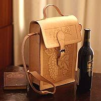 Carry wine in luxurious style!