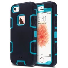 3 in 1 Hybrid Cover for iPhone 5 5S SE 5C 4.0  inch Back Hard Covers Shockproof Heavy Duty Defender Hign Impact