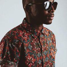 Bold beautiful and brown... #fashion #menswear #African #black #beautiful #sunnies by nomihandmade