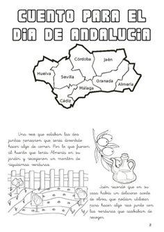 28 de febrero: Día de Andalucía – laclasedeptdemontse Preschool Spanish, Classroom, Education, Words, Ideas Creativas, School Ideas, Traveling, Frases, Constitution Day