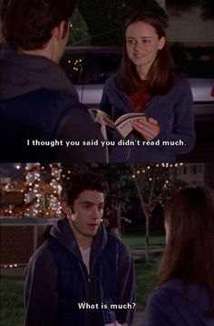 Jess & Rory in Gilmore Girls