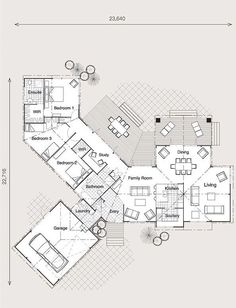 north facing house plans nz - Google Search