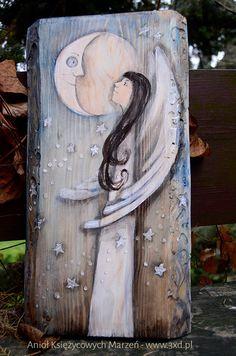 Anioł Księżycowych marzeń | http://www.3xd.pl/sklep/anioly/aniol-ksiezycowych-marzen/ | Elka Ciępka