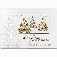 Timely Wishes Holiday Cards | Business Thank You Cards | Deluxe ...