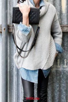 Styling-Tipps: So gelingt dir perfektes #layering mit #pullovern! #streetstyle #fashion #outfit