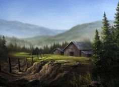 Enjoy the quiet countryside? Watch Kevin as he paints this scenic farmland. For more tips on painting, instructional DVDs, brushes, and paint go to www.paintwithkevin.com