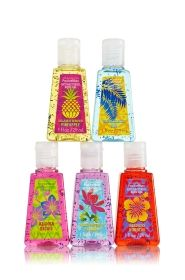Say Aloha to Hawaii 5-Pack PocketBac Sanitizers - Anti-Bacterial - Bath & Body Works