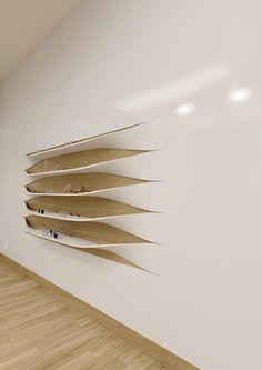 The wall shelves - Rui Silva