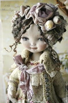 Коллекционная текстильная кукла Ева — работа дня на Ярмарке Мастеров