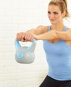 Workout with this Kettlebell Weight or 3-Pc. Kettlebell Weight Set to tone and strengthen your body. The ultimate fitness tool, each kettlebell helps you develop strength, power, endurance and balance, providing a fast and effective workout wherever you